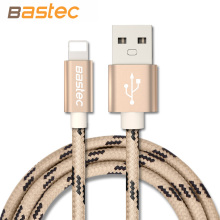 Bastec Lighting Cable Fast Charger Adapter Original USB Cable For iphone 6 s plus i6 i5 iphone 5 5s ipad air2 Mobile Phone Cable