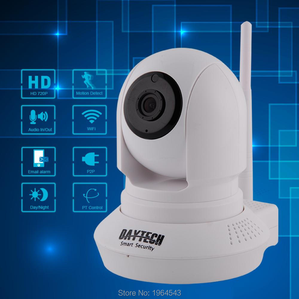Daytech WiFi IP Camera 720P Home Security Camera Two Way Audio Night Vision P2P PIR Motion Detection H.264 HD Video Network Cam<br>
