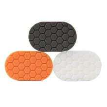 SPTA Finishing Hand Applicator Polishing Pad Sets For Car Wax Buff Pack of 3Pcs(China)