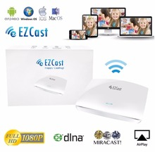 EZcast LAN Box with Ethernet LAN port and 2x2 Wifi Miracast Dongle Widi Adapter WIFI Wireless Display receiver