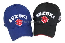 Wholesale New style Car Racing Logo for Suzuki Outdoor Baseball Cap Auto Racing embroidery baseball cap hat