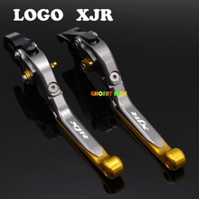 With Logo(XJR )CNC New Adjustable Motorcycle Brake Clutch Levers For Yamaha XJR400 XJR 400 1993-2007