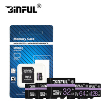 Binful with retail package Class10 64GB cartao de memoria 128GB micro sd card 32GB 16GB 8GB TF Memory card 4GB C6 Microsd