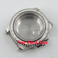 40mm Sapphire glass stainless steel Watch Case fit ETA 2824 2836 movement C100