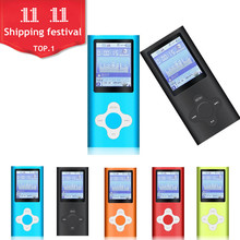 MP3 Music Player 4TH gen 9 Colors Music playing time 10 Hours FM Radio Ebook Game Voice Recorder Sport player 4th player(China)