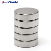 U-JOVAN 20pcs 10 x 3mm N50 Mini Small Round NdFeB Powerful Neodymium Disc Magnets Super Strong Rare Earth Magnet