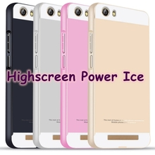 Free Shipping for Highscreen Power Ice Colourful Alunminum Metal Frame Rim + Plastic back board Bounding Box Cover Shell Case
