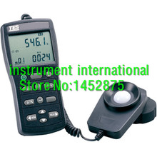 TES-1339R Data Logger Light Meter Tester 0.01 to 999900 Lux PC Data Record TES1339R(China)