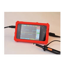 CCDSO Mini Digital Oscilloscope DS212 DSO212 Thumb Wheel 1MHz 8MB LCD Display Handheld Pocket Osciloscopio+Silicone Case(China)
