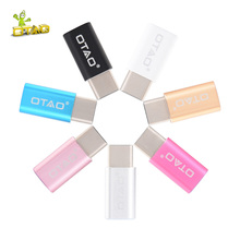OTAO Micro USB Converter For Android Micro USB Adapter Male To USB Adapter Transfer For Type C Fast Charging For Type C
