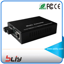 1 Pair gigabit fiber media converter single mode single fiber 1gbps transceiver fiber to ethernet fibra to media converter BLIY(China)