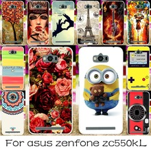DIY Silicone Plastic Phone Cases for ASUS Zenfone MAX ASUS_Z010DD Z010D ZC550KL Z010DA 5.5 inch Housing Cover Shell Skin Bag