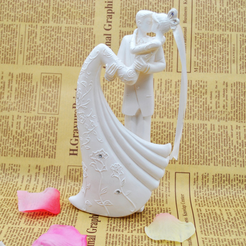Aliexpress.com : Buy Kiss Bride and Groom Wedding Cake Topper ...