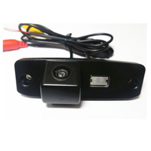 For KIA Carens Sorento Opirus K3 Mohave Borrego HD CCD Reverse camera wire wireless parking camera connect with DVD Monitor GPS(China)