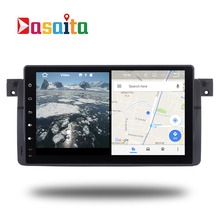 Car 2 din GPS for BMW E46 M3 3 Series Android head unit Stereo navi navigation multimedia radio 3G WIFI free map SD card RDS(China)