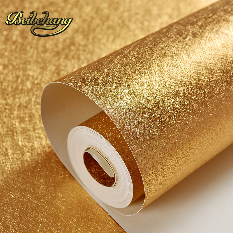 beibehang wall paper Bar KTV backdrop PVC wallpaper gold foil suspended ceiling material gold wallpaper,papel de parede,<br>
