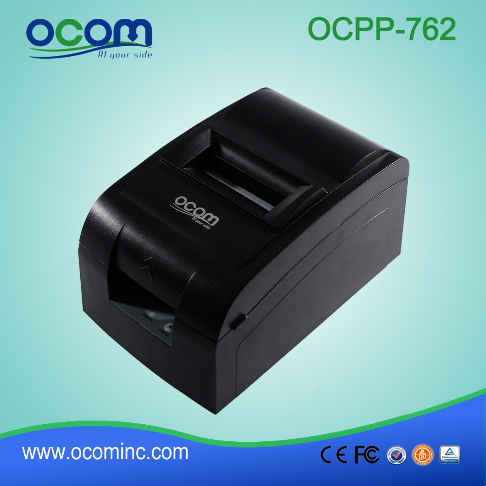 RS232  Interface Desktop Dot Matrix  POS Receipt Printer  76MM (OCPP-762)<br><br>Aliexpress