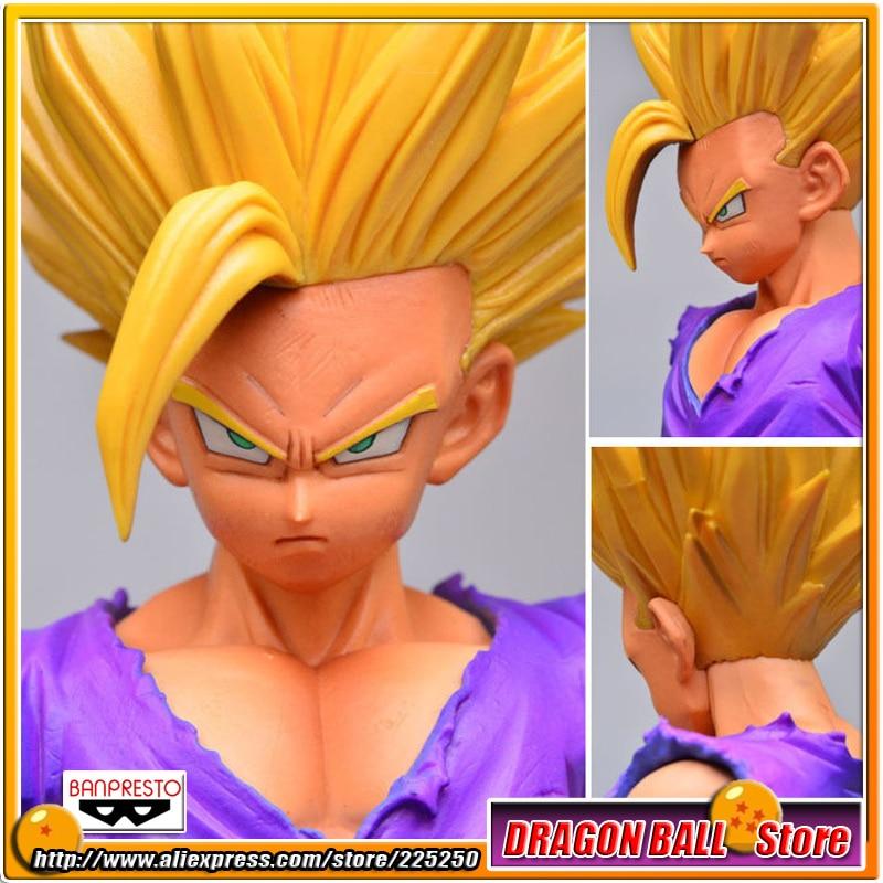 Janpan Anime Dragon Ball Z Kai Original BANPRESTO Master Stars Piece (MSP) Action Figures - Son Gohan Super Saiyan 2<br>