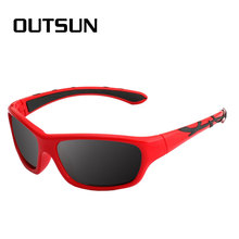OUTSUN Kids Sunglasses Polarized Girls Boys Tr90 Frame Light Weight Childrens Sun Glasses Eyeglasses 100% UV Protection Oculos(China)