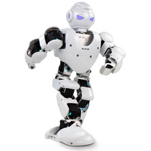 Free shipping Alpha 1s 3D Programmable Humaniod Robot For Intelligent Life Creative RC robot For intelligence development(China)