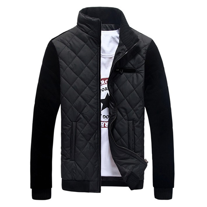 Winter Mens Jacket 2017 New Arrival Casual Korean Style Fashion Mens Parkas Solid Stand Collar Slim Thick Coats MA512Одежда и ак�е��уары<br><br><br>Aliexpress