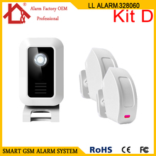 Home Security Welcome Chime Wireless Infrared IR Motion Sensor Door Bell Alarm(China)