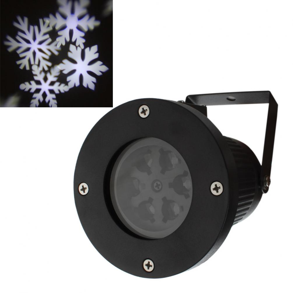 Outdoor Garden Tree Moving Snow Laser Projector Snowflake LED Stage Light Holiday Lights<br>