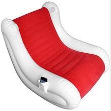 95X65X86CM large size music inflatable air chair, sounding fashion sofa, voice gamer adults beanbag chair