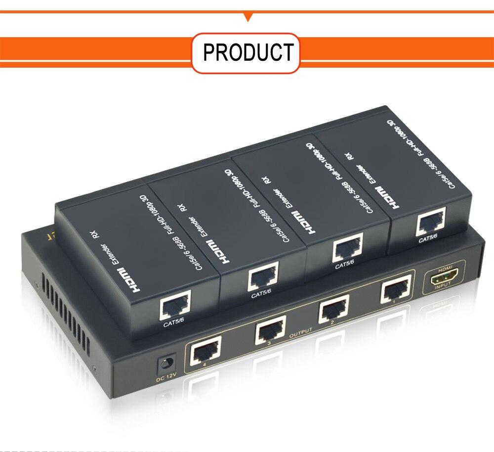 HDMI Splitter Extender 1x4 (4)