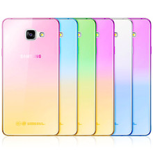 New Capa Gradient TPU case for Samsung Galaxy S7 edge S6 Cases S3 J3 J5 J7 Samsung Galaxy A3 A5 2016 A7 Grand Prime Case p20