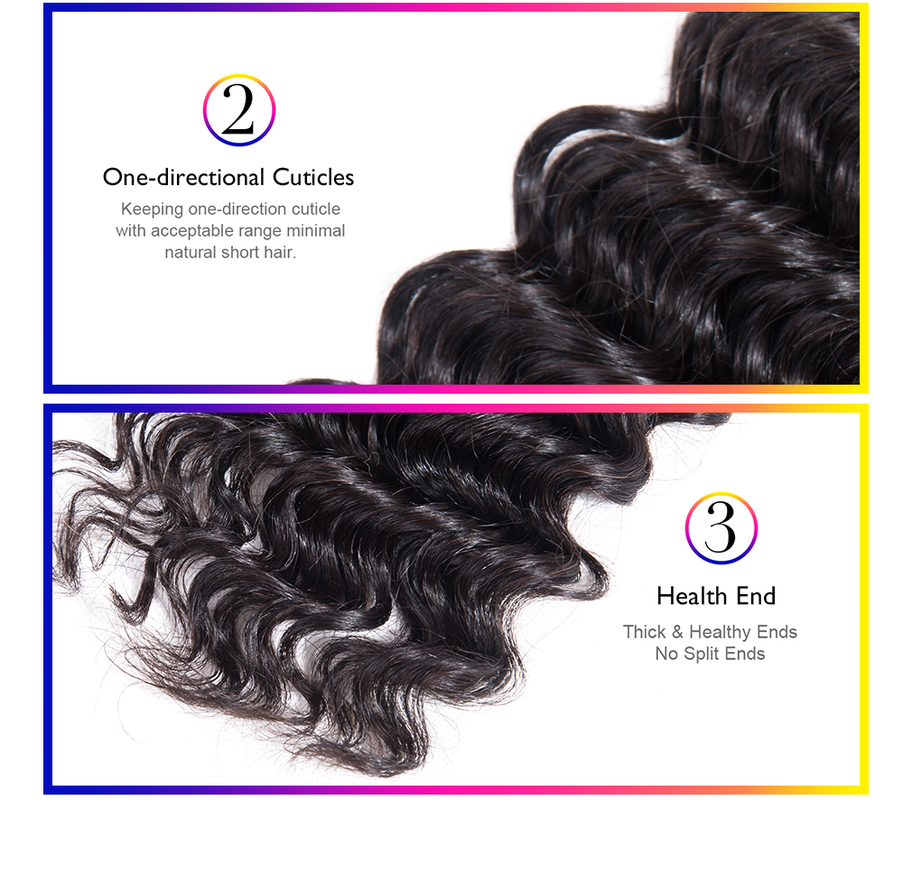 Brazilian hair bundles brazilian bundles brazilian deep wave weave brazilian hair bundles factory Brazilian Human Hair Deep Weave 4Bundles With Closure Deep Wave Bundles With Closure Remy Human Hair Bundle Lace Closure