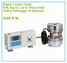 DTM-3000 N.M Digital Torque Tester with N.M / Kg.cm / Lb.in three measuring units and USB Interface(China)