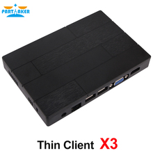 Partaker Multi Language ARM A9 Quad Core RDP 7.1 Linux X3 workstation Thin Client