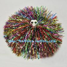 10Pcs 100g Mixed Color Cheerleading Pompom Cheering Pompoms Sports Competition/game/dancing Hand Flowers Cheerleader Props New