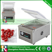 food vacuum sealer, vacuum packing machine vacuum chamber, aluminum bags food rice tea vacuum sealing machine CE(China)