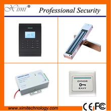 Hot sale RFID card access control system with zksoftware TCP/IP communication smart access control with magnetic lock(China)