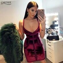 Adyce Summer Bodycon Women Dress Vestidos Verano 2018 Evening Party Dress  Elegant Sleeveless Sexy V Neck Night Out Club Dresses 440361894474