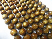 Beautiful of 6mm Round Natural Golden Coral Beads Approx 65Pcs(China)