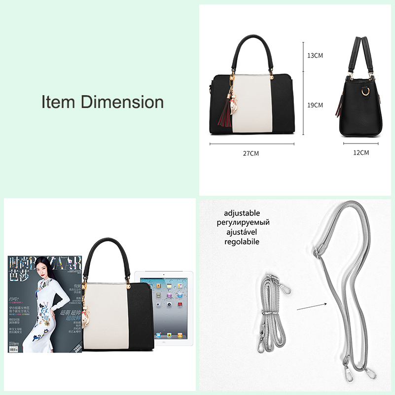 Nevenka Luxury Handbags Women Bags Designer Shoulder Bags High Quality PU Leather Crossbody Bag Ladies Casual Tote Travel Bag04