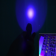 UniqueFire 502B UV Flashlight Purple Light Ultraviolet Luxeon 395-400nm UV LED Torch Light Lamp For Checking Cash(Currency)(China)