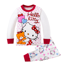 Cotton Girl Easter Clothes Kitty Cat All for Kids Clothes And Accessories Girl Sport Costume Suit Pajamas KTCat Home Wear Sets