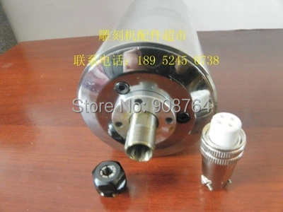 machine tool spindle 1.5kw cnc Spindle motor 3 bearings 24000rpm 1500w 220v ER11 engraving machine  80mm  water cooling engraver<br><br>Aliexpress