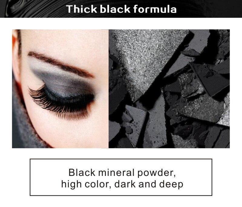 MRC Waterproof 3D Curling Mascara Long Black Volume Eyelashes Extension Brush Makeup Mascara (5)