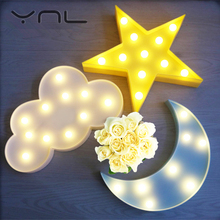 3D LED Night Light Table Lamp Flamingo Pineapple Warm White Cactus Star Cloud Christmas Tree Cartoon LED Children's Night Light