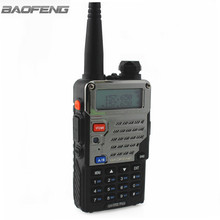 BaoFeng UV-5RE Plus Metal black Walkie Talkie Black Ham Amateur Two Way Radio Dual Band 136-174&400-520MHz Radios VHF UHF(China)