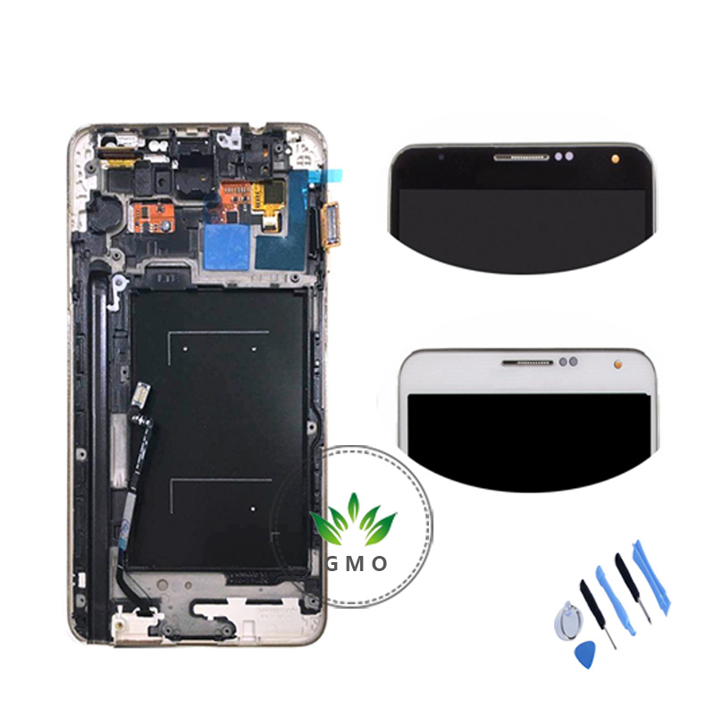 Tested For Samsung for Galaxy Note 3 N9005 LCD Display Touch Screen Digitizer+Bezel Frame Assembly+Tools<br><br>Aliexpress