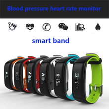 ip 67 blood pressure monitor Smart Bracelet more accurate Heart Rate Monitor Smart Wristband standby 10days For Android  iOS