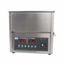 Stainless Steel 19L 420W Industry Heated Ultrasonic Cleaner Ultra Sonic Cleaning Machine Heated Local Fast Shipping(China)