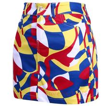 2017 PGM Golf Short Pencil Skirts Colorfull Lady Tennis Safety Mini Shorts Print Short Exposure Safety Skirts Multicolor Apparel