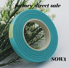 Wholesale Free Shipping  Light Blue Paper Tape For Nylon Stocking Flower And Butterfly Wedding Decoration Accessories(5pcs/lot)